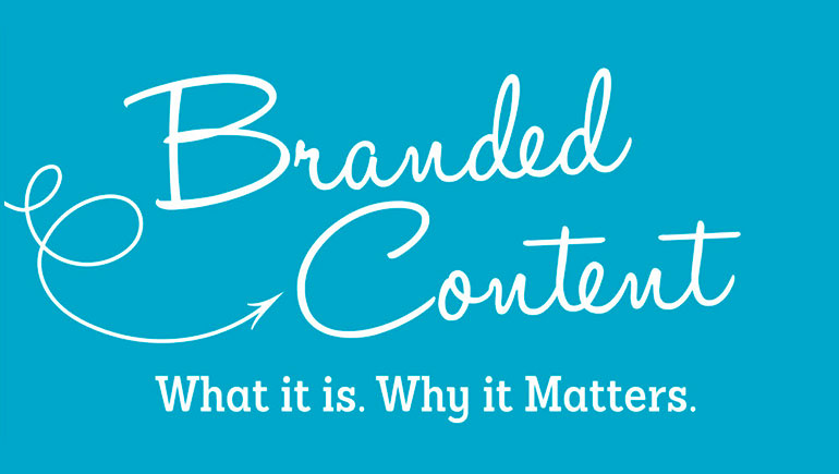 The subtle art of creating branded content that is unique to the brand and stands out in the clutter
