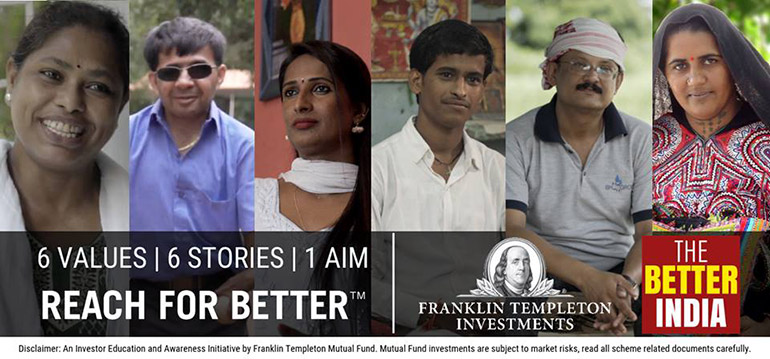 Franklin Templeton Investments showcases stories of those